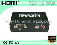 VGA+Analog Audio to HDMI converter With 1280x1024 HDMI Resolution