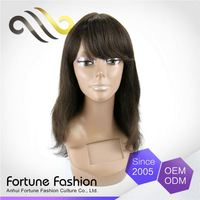 100% Warranty Can Be Colored Full Peruvian 0.2 Hard Lace Wig 30Inches