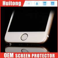9H smart touch film protector, high transparent and ultra thin glass film, anti-shatter glass protector