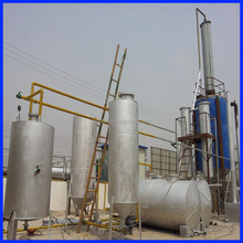 Ultimo 5 tonnellate- 100 tonnellate capaci continua olio motore usato per macchina gasolio distillazione, olio motore usato per diesel