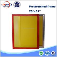 Silk print frame aluminum screen printing