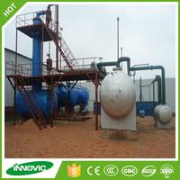 High Oil Yield Used Motor Oil Re-refining To Diesel/Base Oil