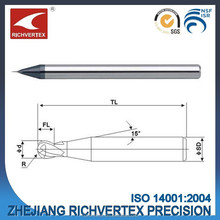 High quality factory direct price solid carbide 0.2-1.0mm micro end mill