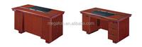 Top quality wood office desk computer workstations desks(FOH-A2G141)