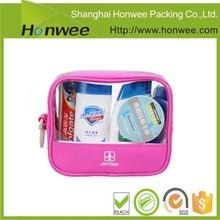2015 product fashion pvc ziplock bag for cosmetic