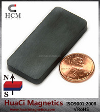 "Ceramic Therapy Magnets C8 15/8""X7/8""X3/16"" Hard Ferrite Magnet Block"