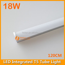 1200mm 18W T5 Integrated LED Tube Light with Internal Driver