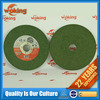 green silicon carbide cutting and grinding wheel