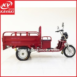 Guangzhou adult electric tricycle cargo, cargo electric motorized tricycle for adults, electric 3 wheel cargo tricycle for elder