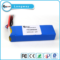 18650 48.1v 17ah high capacity lithium ion battery pack for electric balance car