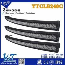"""Auto lighting system 10-30v car dual stack 41.5"""" 240W led light bar, car accessory"""