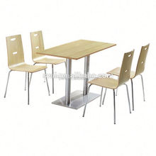 used wood furniture design in pakistan plywood table and chair commercial restaurant furniture