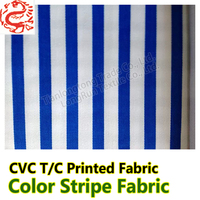 Hospital Bedding sheets fabric Navy and white striped bedding fabric