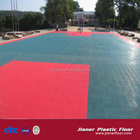 Basketball Courts Rubber Outdoor Floor