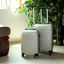 abs coded lock hard case travel house luggage trolley