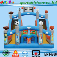 Hot sale huge inflatable bouncer for kids,cheap inflatable obstacle course bouncy castle
