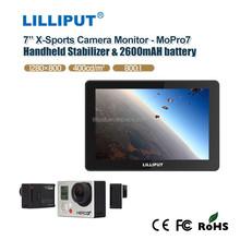 LILLIPUT 7 inch Go-Pro Camera Monitor Dual rear case, named MoPro7