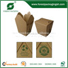 FAST FOOD PAPER PACKAGING BOX CUSTOM LOGO