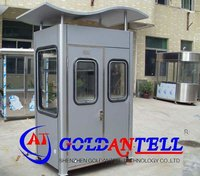 Flexible design low cost convenient long life bungalow steel house & movable sentry box & sentry house
