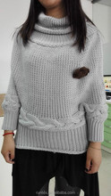 Designed winter Ladies' knitted sweater