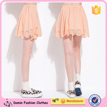 2015 New Fashion Laser Cut Pretty Lady Skirt