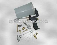 Portable gelcoat/resin spray gun