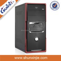 Mesh desktop computer case SX-C1809