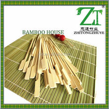 (annie@bamboohouse.com.cn) bamboo flat skewer for bbq for Burger