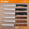 good quanlity stainless stell low price steak knife witn plastic handle knife set Restaurant supplies