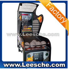 LSJQ-383 deluxe coin operated street basketball game machine electronic basketball scoring machine tt