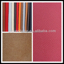 Embossed microfiber leather for car seat cover, chairs and sofa furniture usage