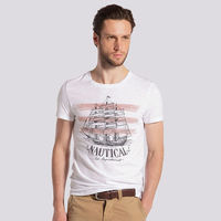 wholesale 100%cotton men's printed t shirt clothing