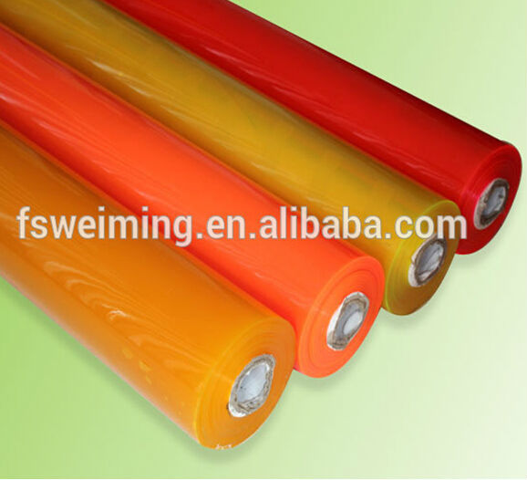 color pvc film