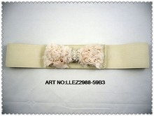 embroidery belt with beads
