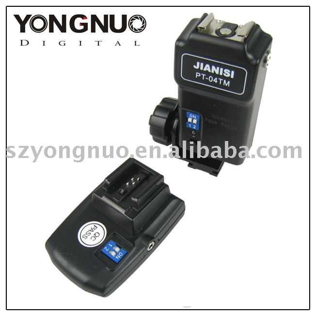 YONGNUO 4 canali di trigger flash wireless pt-04 per sony