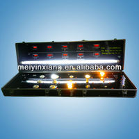LED show case, LED light Display Case,Trolley test Demo Case to show LED and traditional light