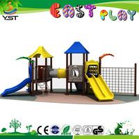 Bravo!! hottest children outdoor playground plastic slide curved slide playground slides