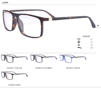 Tr front and acetate temple design optical frames on ready stock eyeglasses eyewear no moq A15259