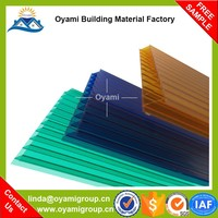 Construction materials soundproof plastic wall finishes for bathroom