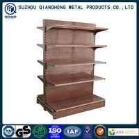 Shopping usa Double side heavy duty supermarket shelf