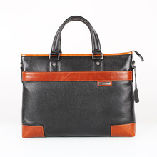 AKleatherware High Quality Italian Cow Hides Handbag Men Business Leather Bag