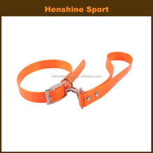 waterproof and good flexibility dog collar with short leash