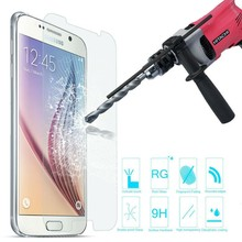 2015 Hot New Products accessories 0.26 0.15mm 9H 2.5D mobile phone tempered glass screen protector for Samsung Galaxy S6