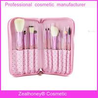 Girls lover high quality goat hair makeup brush kit