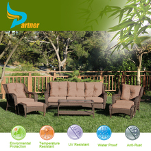Very Popular Luxury And Elegant Patio Wicker Sofa Set With Fashion Perfect Handmade Outdoor Rattan Furniture