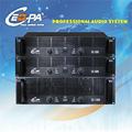 Alta qualidade estéreo de dois canais amplificador de potência profissional