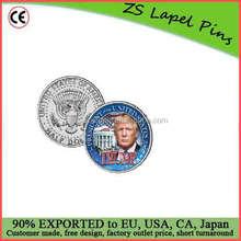Free artwork design custom DONALD TRUMP Challenge Coin