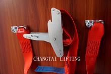 Tie down straps for cargo airline