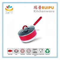 2015 high quality induction lovely mini milk pot/ cook pan