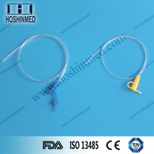 Alibaba wholesale singel use polyurethane feeding tube with guidewire
